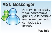 Descargar  programas de internet: MSN Messenger